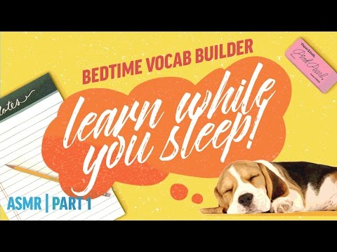 Learn While You Sleep Vocabulary Builder| ASMR