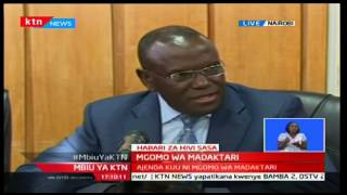 Health CS Cleopa Mailu addresses Doctors' and Government's CBA that led to the Strike