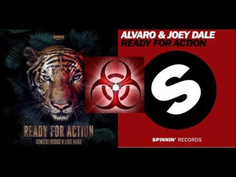 Dimitri Vegas & Like Mike vs Alvaro & Joey Dale - Ready For Action (BlackFir3 Mashup)