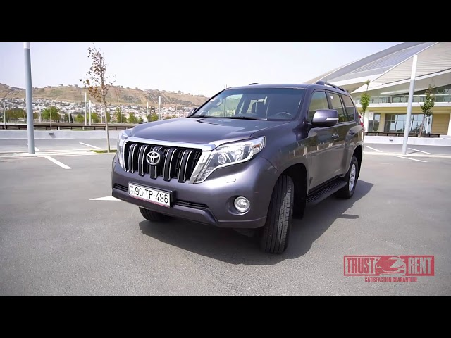 Toyota Prado / Rental cars in Baku from TRUST RENT a car Baku