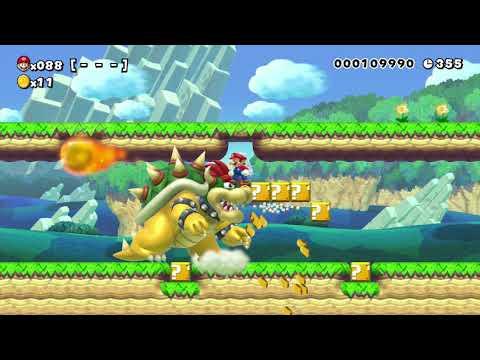 Super Mario Maker 100 Mario Challenge Super Expert No Skips 96