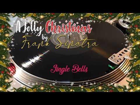 A Jolly Christmas from Frank Sinatra - Jingle Bells - (1957) Black Vinyl LP