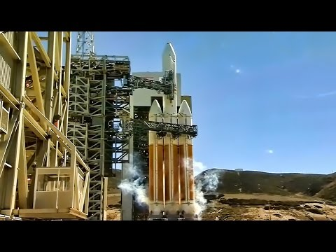 Top Secret Satellite Launch (2013) • Delta Heavy IV