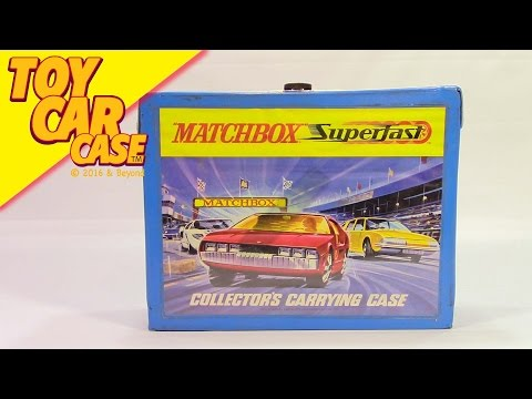 Matchbox SUPERFAST Collector's Caring Case, 1970, Toy Car Case