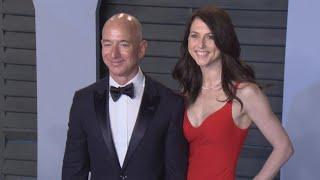 Jeff Bezos' Ex-Wife Gets $35 Billion in Amazon Stock