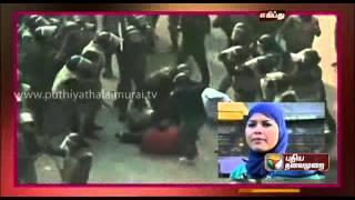 Women power was like a backbone in the Arab uprising in Egypt