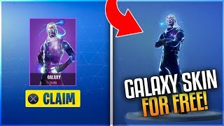 "Cómo obtener ""GALAXY SKIN"" GRATIS! - Galaxy Skin SIN comprar Note 9! (Fortnite: Battle Royale)"