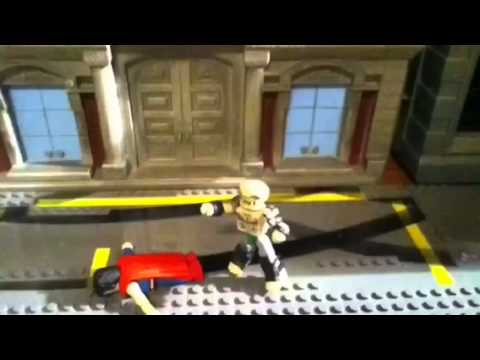 Reign of the supermen ep 1 death of superman Lego stop moti
