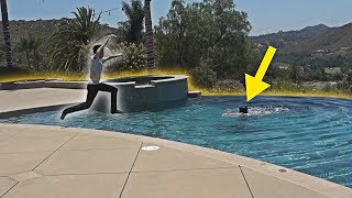 HE PRANKED ME SO BAD!! (DAD DROWNING PRANK) | FaZe Rug