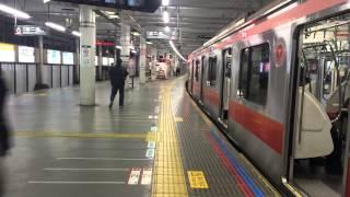 かっこいい車掌さん!  東急東横線 菊名駅