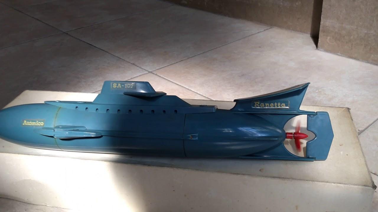 Antiguo Juguete Submarino De De Submarino FcK1lJ