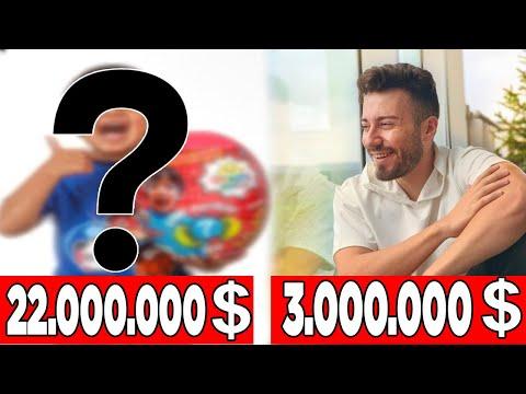 En çok Kazanan 10 Türk Yotuber!! İşte Aylık Kazançları?