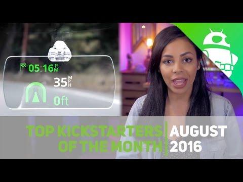 Top KickStarter of the month - August 2016
