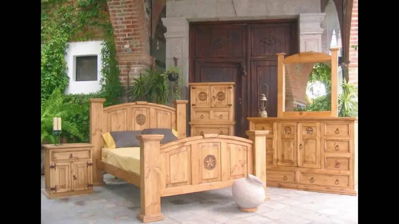 Pine Furniture | Pine Bedroom Furniture | Mexican Pine Furniture | 5 Piece  Dining Set   YouTube