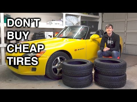 Cheap Car Tires >> Why You Should Never Buy Cheap Tires Youtube