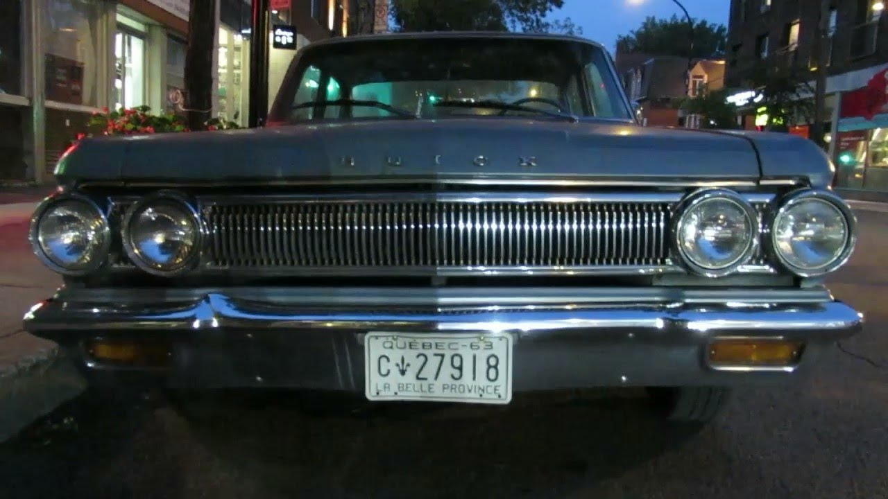 RARE '63 BUICK SPECIAL SEDAN SIGHTING IN MONTREAL