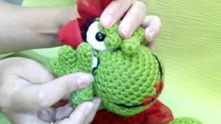 Игрушка Лягушка | Техника амигуруми