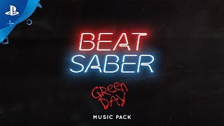 Beat Saber: Green Day Music Pack - Release Trailer | PS VR