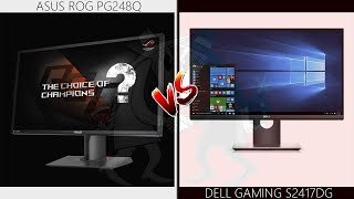 asus PG248Q Problems and Review vs Dell S2417DG