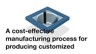 A cost-effective manufacturing process for producing customized products