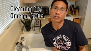 Cleaning The Omega J8004