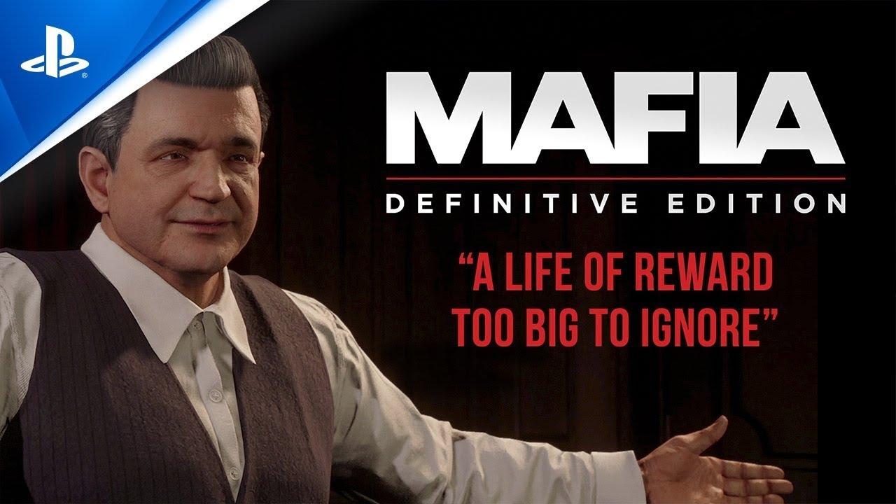 Mafia: Definitive Edition -  A Life of Reward Too Big to Ignore Trailer   PS4