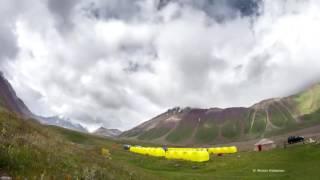 ВИДЕО (ТАЙМЛАПС): ОКРЕСТНОСТИ БАЗОВОГО ЛАГЕРЯ (3600 М) ПОД ПИКОМ ЛЕНИНА