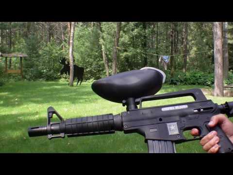 U.S. Army: Alpha Black Marker Overview/ Firing