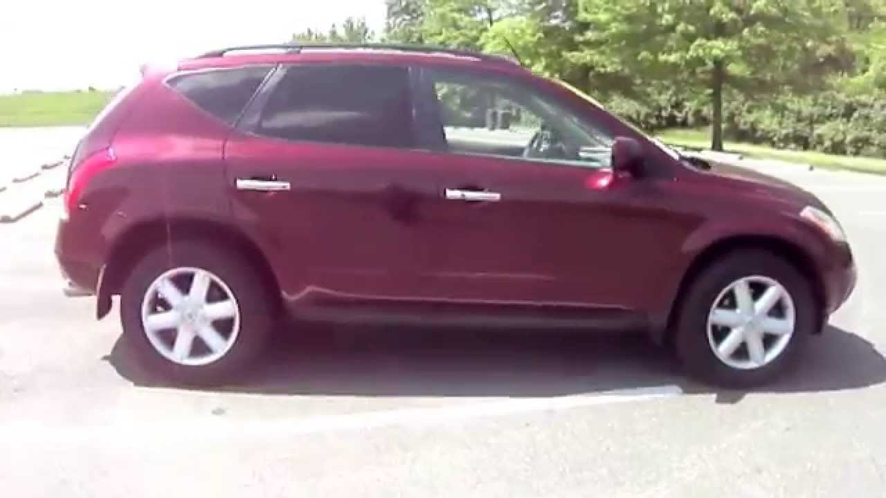 2005 nissan murano red youtube. Black Bedroom Furniture Sets. Home Design Ideas