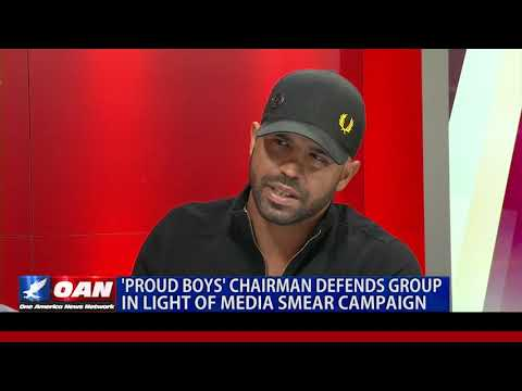 Proud Boys' Chairman Defends Group in Light of Media Smear Campaign