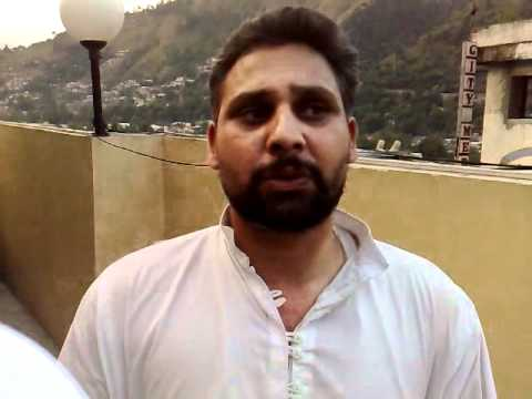 Interview with NSF Chairman Raja Sabha - Muzaffarabad 06/06/09