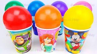 서프라이즈 컵 와 함께 사탕 그리고 장난감 | 어린이 …