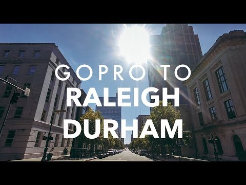 Durham and Raleigh, October 2017