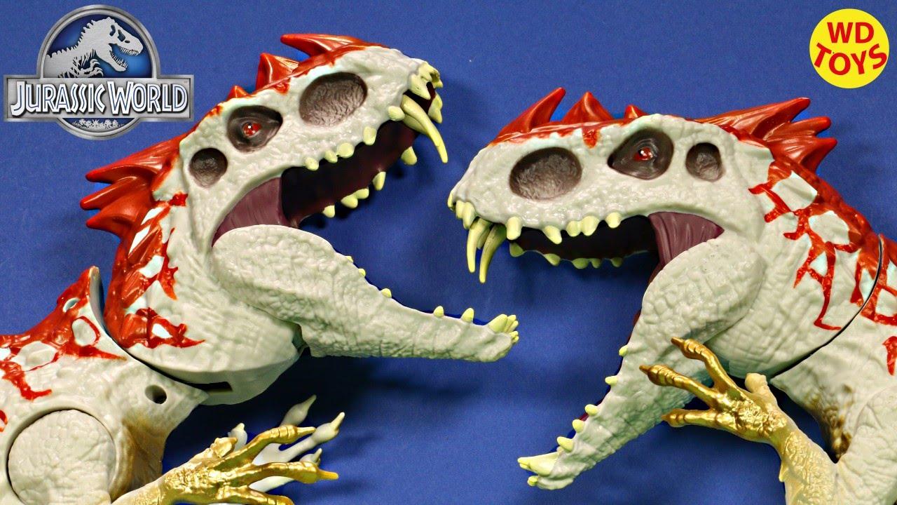New Jurassic World Hybrid Rampage INDOMINUS REX Vs Hybrid Rampage INDOMINUS  REX UNBOXING - WD Toys