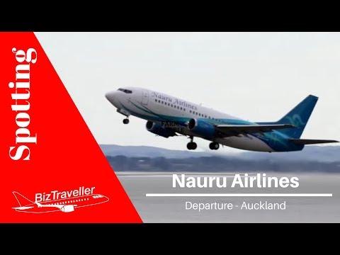 Nauru Airlines 737 Departure to Norfolk Island