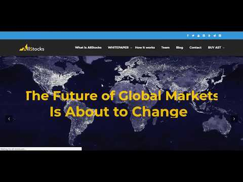 AllStocks - Pasar Global Masa Depan (ICO REVIEW)
