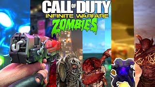 ALL IW ZOMBIES BOSS FIGHT STRATEGIES! - Infinite Warfare Zombies NEW Boss Fight Game Mode