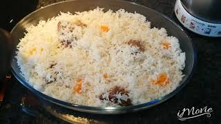 How to cook chicken biryani  rice in less than 30min