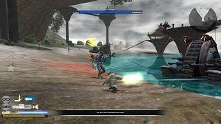 Star Wars Battlefront 2  Gameplay 3 Kashyyyk - A Line In The Sand