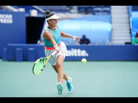 Jennifer Brady vs Yulia Putintseva | US Open 2020 Quarterfinal