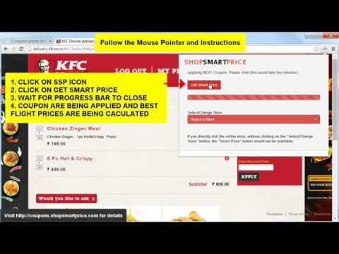 How to Get Best Online Food Prices at KFC - ShopSmartPrice
