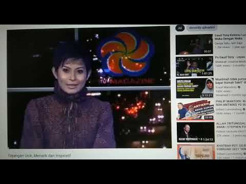 TV Magazine tayang 16 TV Lokal dan tayang di TV Satelit QTv dan TV Swara.