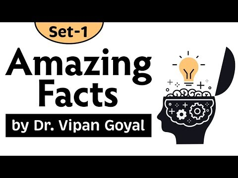 Amazing Facts General Knowledge l Interesting Facts l Set 1 l Study IQ l Dr Vipan Goyal
