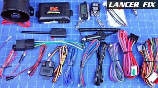 Lancer Fix 35 | Remote Start + Alarm SP-502 [English]