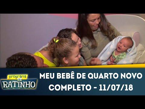 Meu Bebê de Quarto Novo - Completo | Programa do Ratinho (11/07/2018)