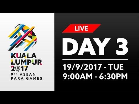 9th ASEAN Para Games | Day 3 - Swimming & Wheelchair Basketball | 19/09/2017
