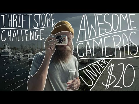 Awesome Cameras Under $20  Thrift Store Challenge
