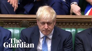 Boris Johnson addresses the Commons as PM for first time – watch live