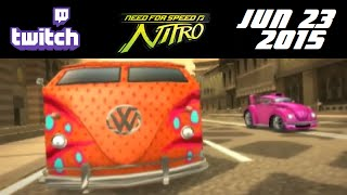 Stream Archive - Need for Speed: Nitro - 6/23/15