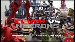 Eldar Vs Necrons: Warhammer 40K Battle Report - Mission Three